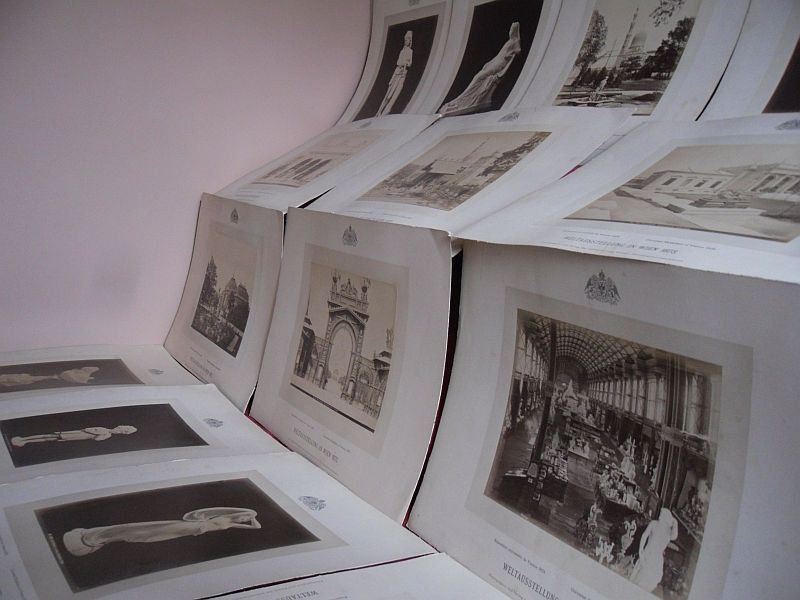 Österreich Wien Weltausstellung 1873 Sammlung 14 Original Albumin Foto Tafeln