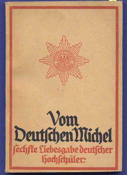 Deutsche Christliche Studenten Vereinigung DSCV Deutscher Michel Jahrbuch 1915