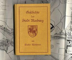 Hessen Chronik und Geschichte der Stadt Marburg Buch von 1934