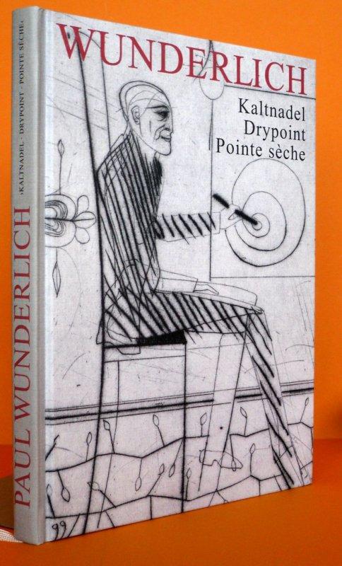 Kunst Lithografie Paul Wunderlich Kaltnadel Radierung Drypoint Pointe seche 1999