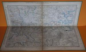 Alte Landkarte Deutsche Staaten Hannover Braunschweig Anhalt Dessau um 1850