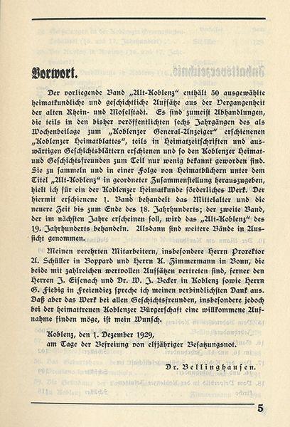 Rheinland Pfalz Alt Koblenz Mittelalter Stadt Geschichte Chronik 2 Bände 1929 2