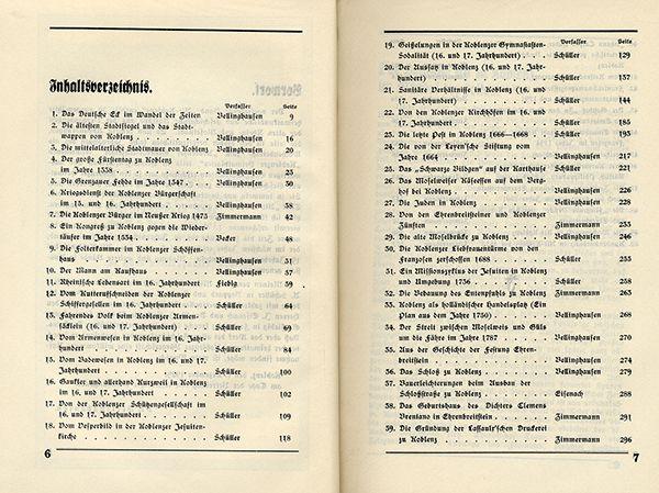 Rheinland Pfalz Alt Koblenz Mittelalter Stadt Geschichte Chronik 2 Bände 1929 4