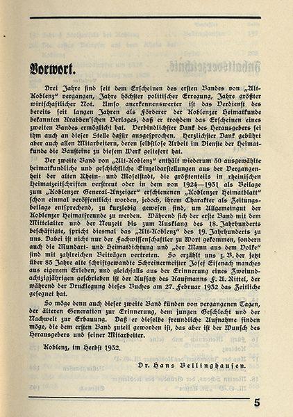 Rheinland Pfalz Alt Koblenz Mittelalter Stadt Geschichte Chronik 2 Bände 1929 5