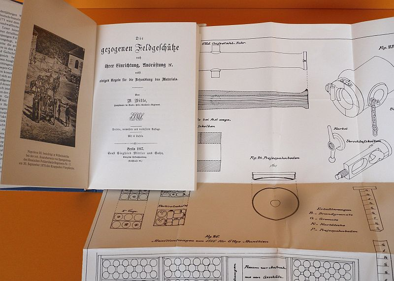 Militär Geschichte Krieg 1870 Preußische Feld Artillerie Geschütze Buch 1867 0