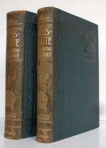 Sprachen Französisch-Deutsches Deutsch- Französisches Wörterbuch 2 Bände 1908