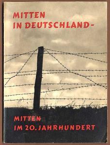 Deutsche Geschichte DDR Zone Grenze Mauer Diktatur Buch von 1961
