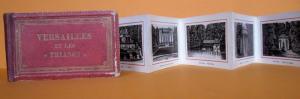 Frankreich Paris Schloss Park Versailles Leporello Bilder Album 1890