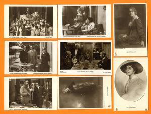 Kino Ufa Star Filmschauspielerin Lotte Neumann 12 Foto Postkarten 1930
