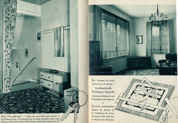 Werbung Reklame Aschaffenburg Möbel Schwind Wohnung Gardinen Werbeheft 1962