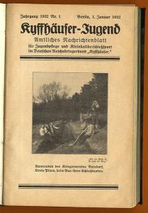 Reichskriegerbund Kyffhäuser Jugend Zeitschrift für Kleinkaliber Schießsport