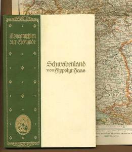 Württemberg Schwaben Stuttgart Ulm Isny Tübingen Urach Enz Hegau Buch 1925
