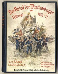 Militär Geschichte Königreich Württemberg Deutsch Französischer Krieg 1870/71