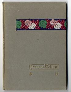 Hessen Heimat Hessische Künstler und Dichter Ubbelohde Kunst Grafik Buch 1917