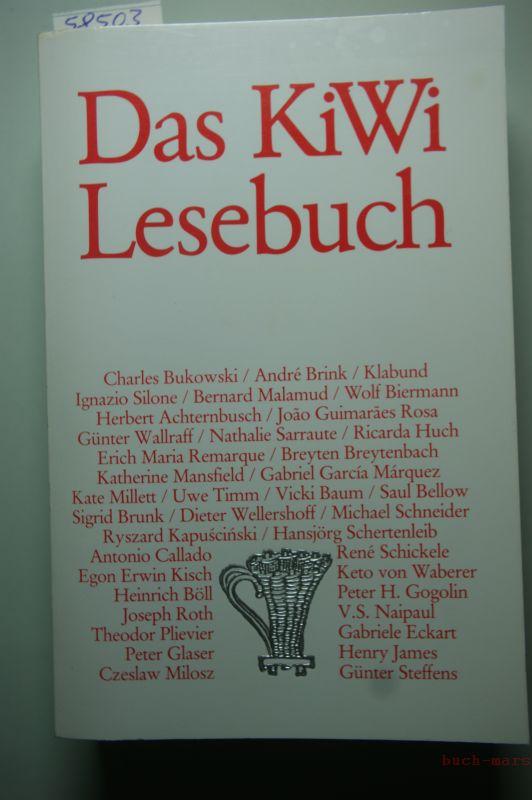 , unbekannt: Das KiWi-Lesebuch
