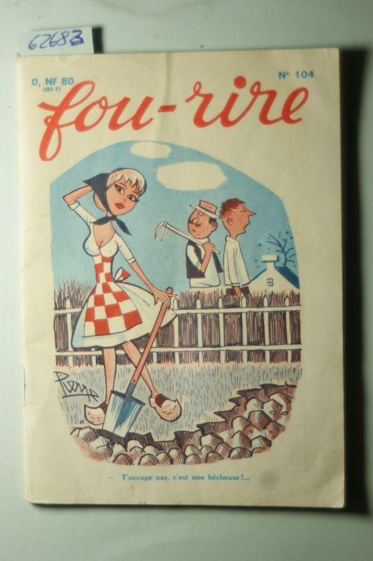 Les Jarres d`Or: Fou-Rire Digest No. 104.