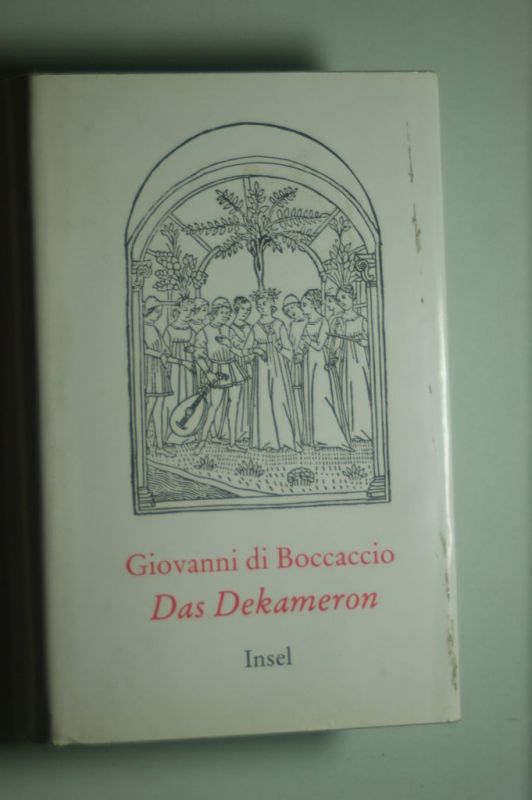 Boccaccio, Giovanni di: Das Dekameron - Dünndruckausgabe.