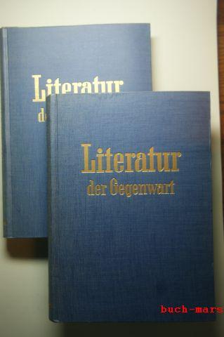 Gültig, Heinz (Herausgeber): Literatur der Gegenwart in Einzeldarstellungen.. Band 1 und 2. Zusammengestellt und herausgegeben von Heinz Gültig.