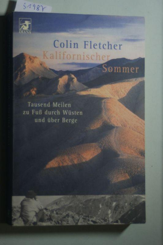 Fletcher, Colin: Kalifornischer Sommer