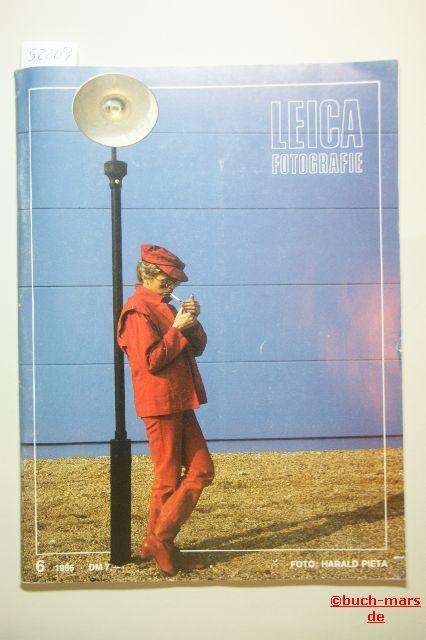 Edmund Bugdoll (Redaktion): Leica Fotografie 6. XXXVIII. Jahrgang Internationale Zeitschrift für Kleinbildfotografie.