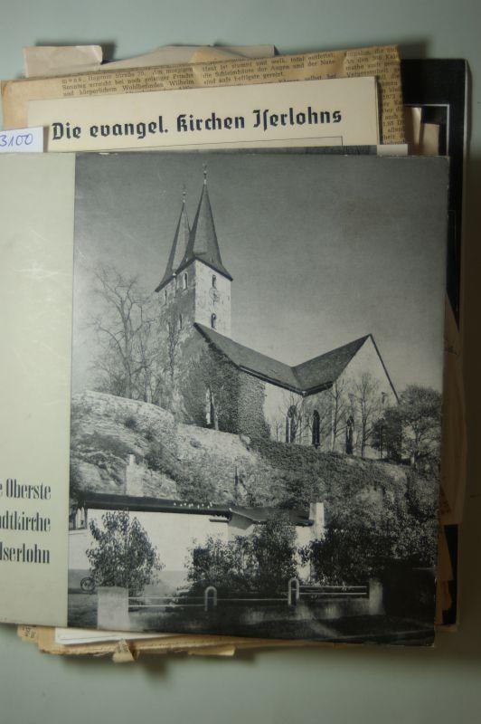 Kühn, Fritz: Die Oberste Stadtkirche in Iserlohn. Herausgeber: Presbyterium der Evangelischen Kirchengemeinde Iserlohn.