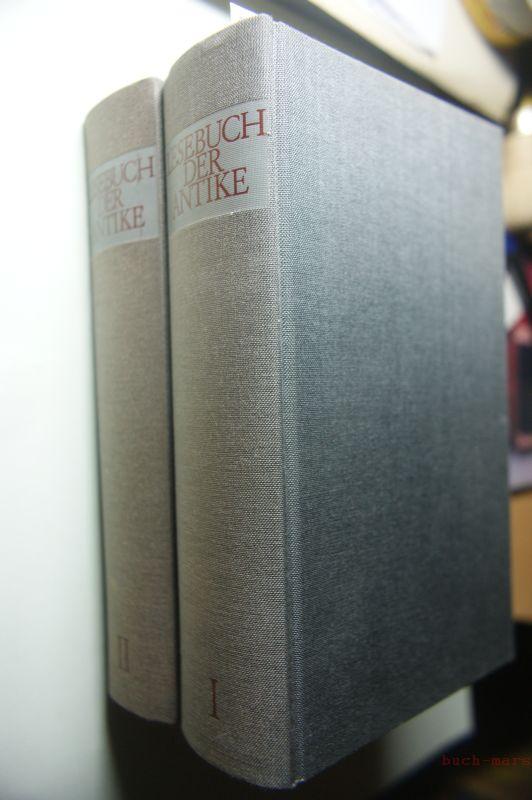 Voit, Ludwig: Lesebuch der Antike. Bd.1: Das klassische Griechenland von Homer bis Aristoteles. Bd.2: Griechischer Hellenismus und römische Republik, von Menander bis Cicero.