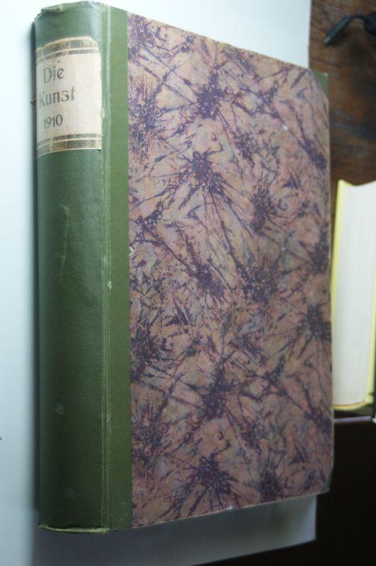Bruckmann, F. A. (Hrsg.).: Die Kunst. 1910 Monatshefte für freie und angewandte Kunst.Band 21. Freie Kunst XXV.