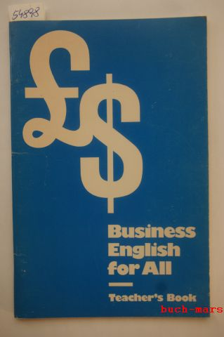 Piert (Hrsg.), Willy: Business English for All, Teacher`s Book.