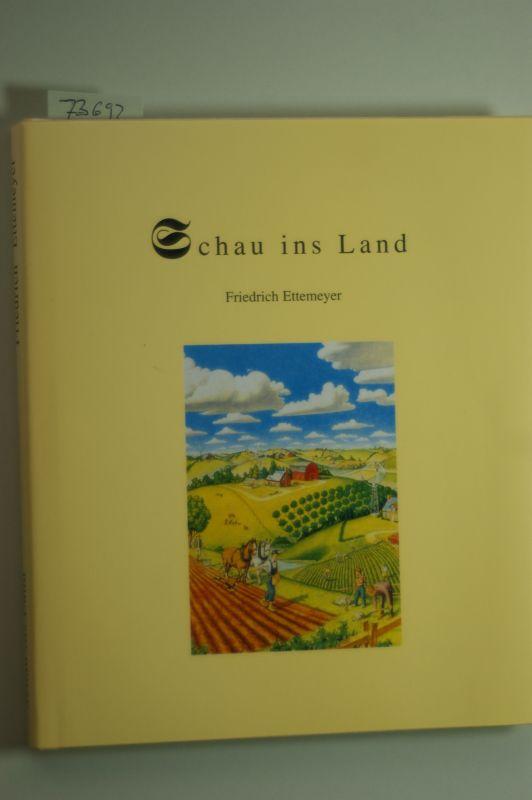 Friedrich Ettemeyer: Schau ins Land. Gedichte