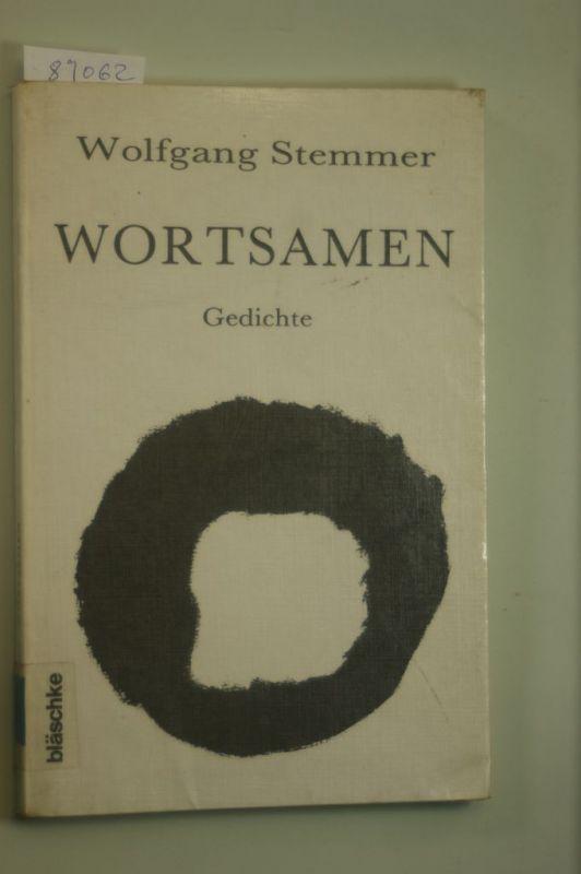 Wolfgang Stemmer: Wortsamen