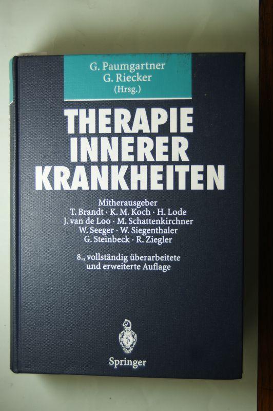 Paumgartner und Riecker: Therapie innerer Krankheiten