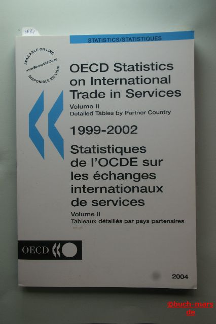 Autorengruppe: OECD Statistics on International Trade in Services. Volume II. Detailed Tables by Partner Country 1999 - 2002.