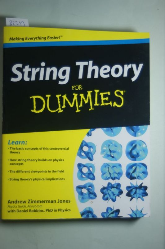 Jones, Andrew Zimmerman: String Theory For Dummies