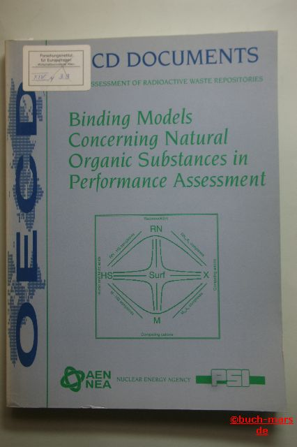 OECD Documents: Binding Models Concerning Natural Organic Substances in Performance Assessment