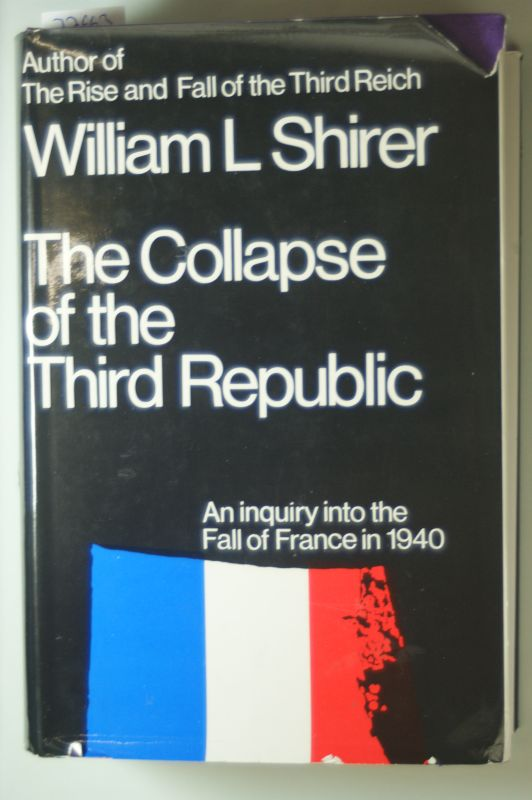 Shirer, William L.: Collapse of the Third Republic