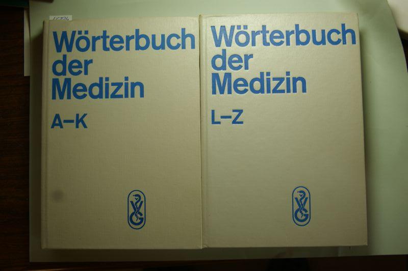 David, Heinz [Hrsg.], Maxim Zetkin und Herbert Schaldach (Begr.): Wörterbuch der Medizin. 2 Bände (Band 1 A-K; Band 2 L-Z). Begründet von Prof. Dr. med. Maxim Zetkin und OMR Dr. med. Herbert Schaldach.
