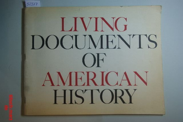 Dr. Henry Steele Commager: Living Documents of American History