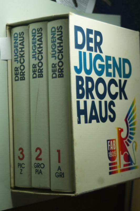 Anger, Eberhard [Red.], Marianne [Red.] Strzysch-Siebeck und Schiefelbein Nina Emrich: Der Jugend Brockhaus in 3 Bänden