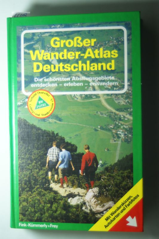 [Mitverf.] Albart, Rudolf: Großer Wander-Atlas Deutschland