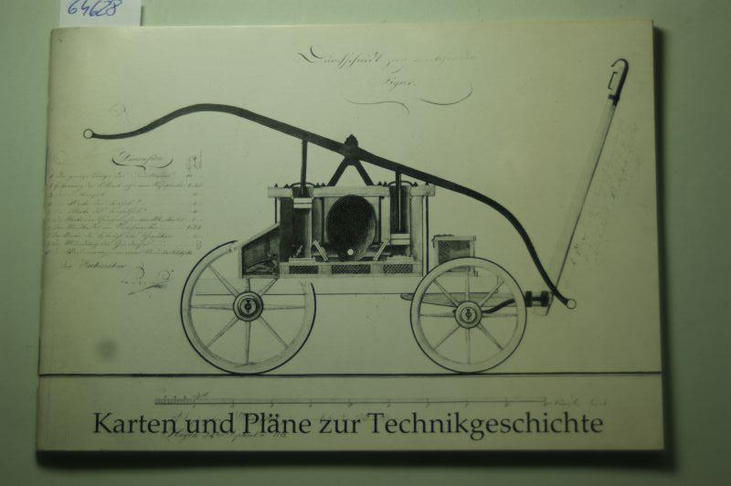 Staatsarchiv Münster: Karten und Pläne zur Technikgeschichte. Ausstellung des Nordrhein-Westfälischen Staatsarchivs Münster 1979. Mit 9 Abb.