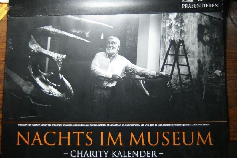 Senckenberg Forschungsinstitut und Naturmuseum und Twentieth Century Fox of Germany: Nachts im Museum. Charity Kalender.