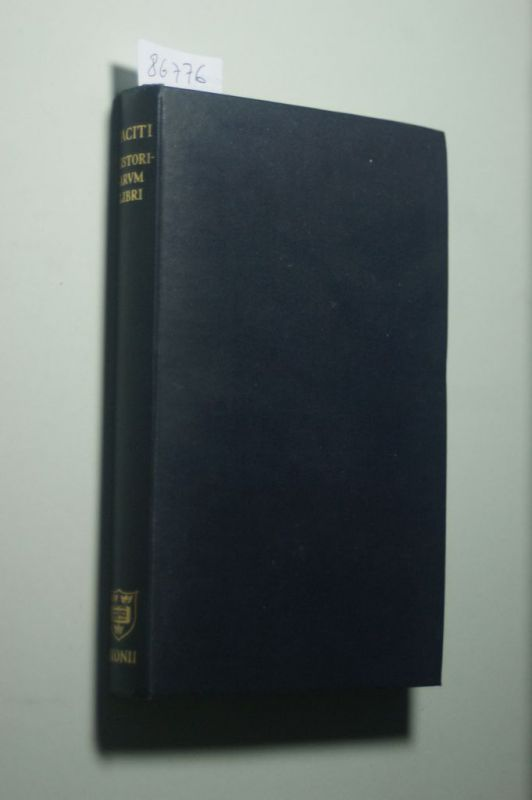 Taciti, Cornelii und C. D. Fisher: Historiarvm Libri
