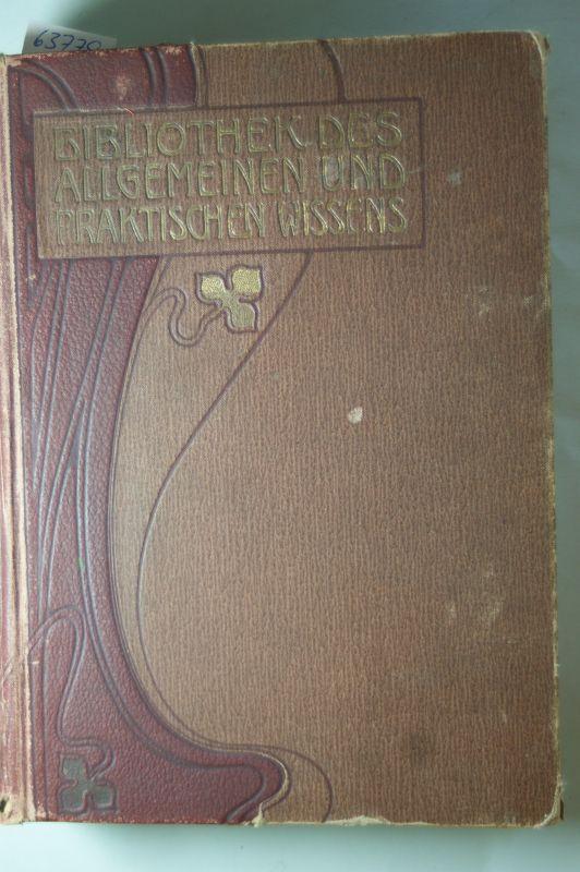 Henri Laurent und Emanuel Müller-Baden: Bibliothek des Allgemeinen und Praktischen Wissens 1. Teil Französische Sprache Zum Selbstunterricht nach leichtsatzlicher Methode.