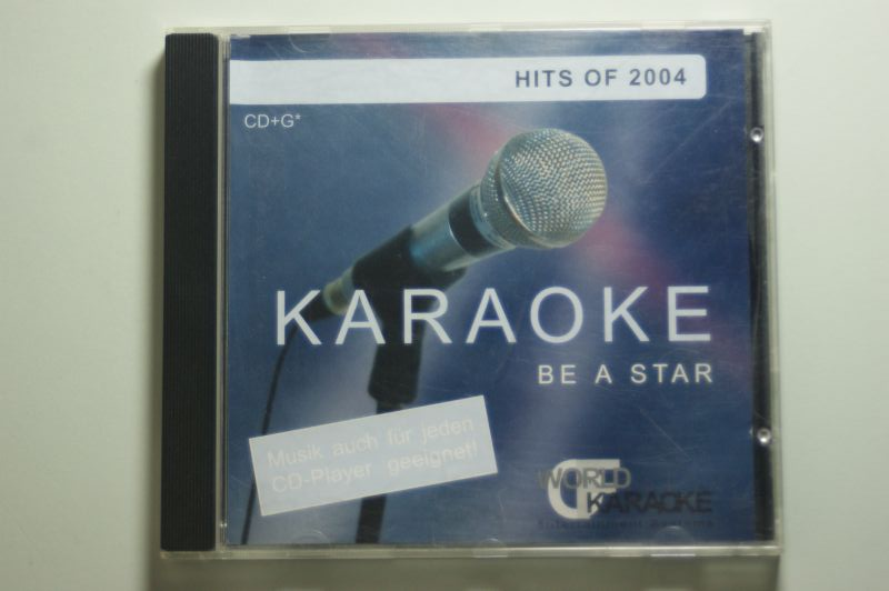 Karaoke-Be, a Star-Hits of 2004 (CD+G): Can`t wait until tonight, Perfekte Welle, Come on over, Mensch, Für dich..