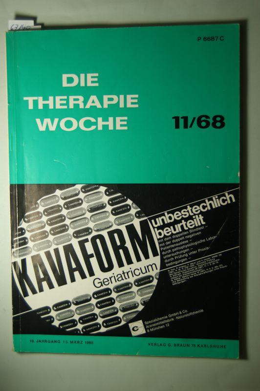 Hoffmann und Späth: Die Therapiewoche. 18. Jahrgang. März 1968 Offizielles Organ der Deutschen Therapiewoche.Kritische Betrachtungen über 20jährige Gutachtertätigkeit zum Problem der Schwangerschaftsunterbrechung.