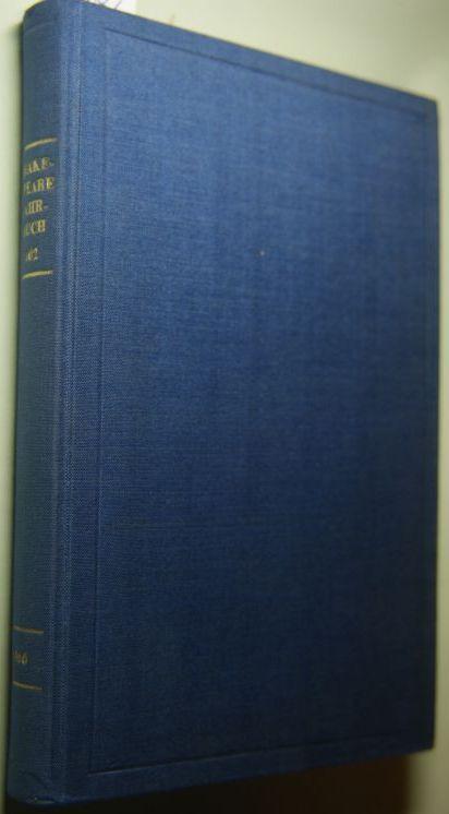 Hrsg. Schlösser, Anselm und Armin-Gerd Kuckhoff: Shakespeare Jahrbuch. Herausgegeben im Auftrage der Deutschen Shakespeare-Gesellschaft. - Band 102. 1966