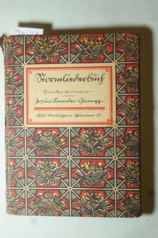 Gamgg, Josua Leander: Stormliederbuch. Handzeichnungen von Josua Leander Gamgg.