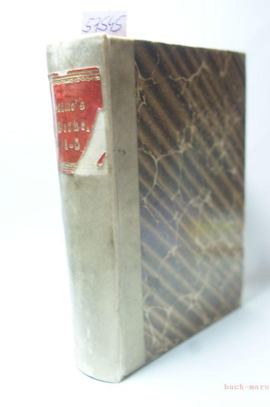 Seume, J. G.: Mein Leben. 1 - 5. Nebst der Fortsetzung dazu von Clodius. 1. Mein Leben. 2. und 3. Spaziergang nach Syrakus.1802. 4. Mein Sommer 1805. 5. Sämmtliche Gedichte.