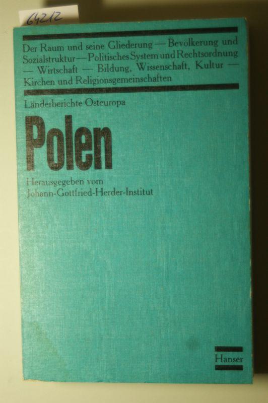 Gottfried Herder-Institut (Hrsg.), Johann: Polen. Länderberichte Osteuropa II
