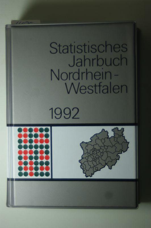 Landesamt für Datenverarbeitung: Statistisches Jahrbuch Nordrhein-Westfalen 1992. 34. Jahrgang.